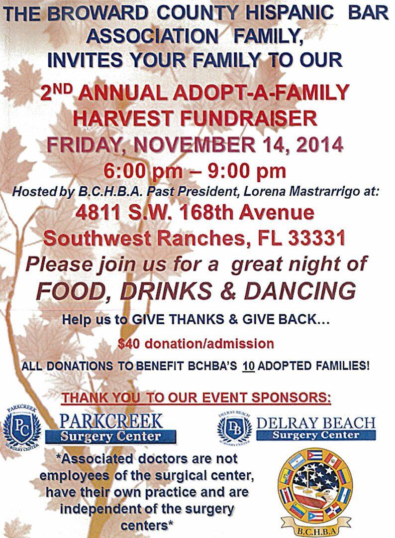 ZP Sponsors BCHBA Harvest Fundraiser