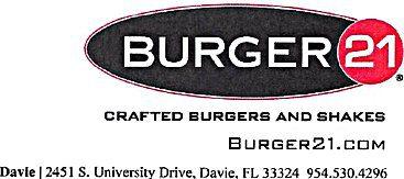 Zebersky Payne Shaw Lewenz, LLP Supports the Darrell Gwynn Foundation and Enjoys a Hamburger at Burger21
