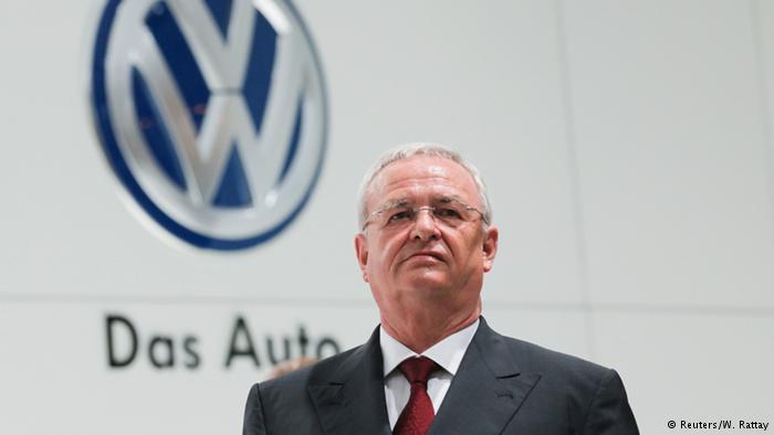 Martin Winterkorn, CEO of VW