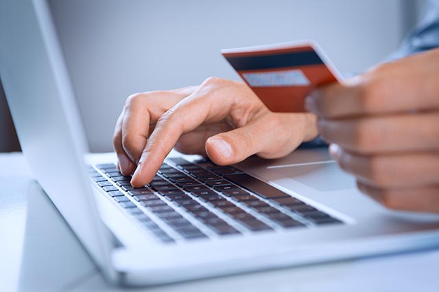 Using CC for online payment