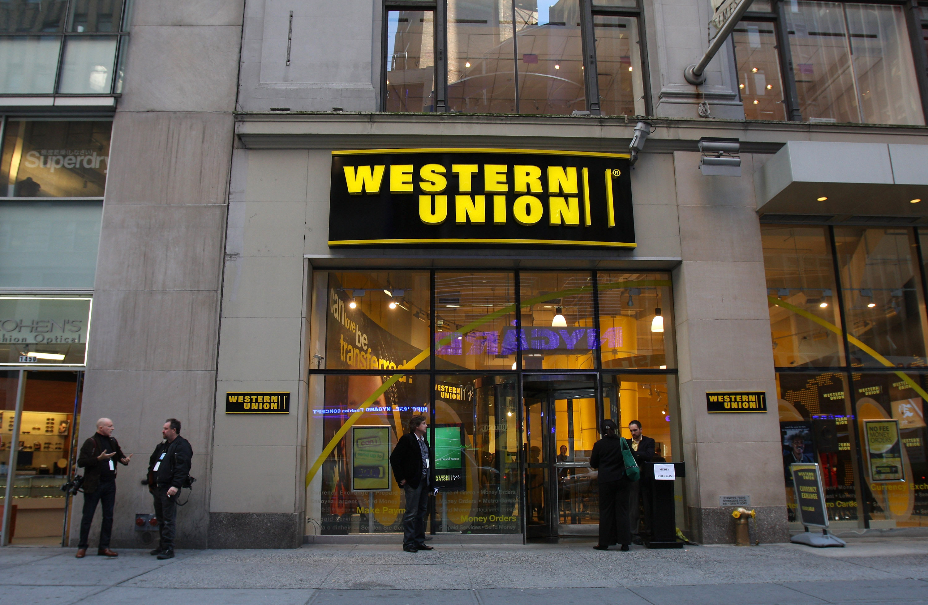 Western Union Store Front