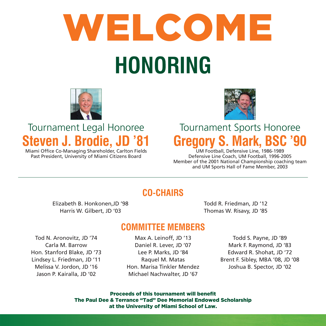 Zebersky Payne Shaw Lewenz, LLP - University of Miami Law Alumni Sponsors